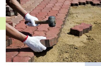 Укладка тротуарной плитки в Рязани