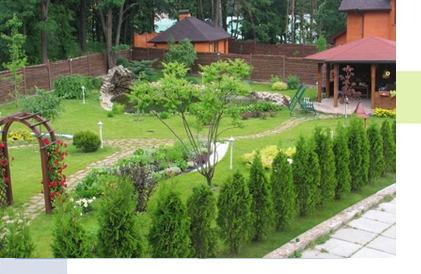 Благоустройство территории домов в Рязани