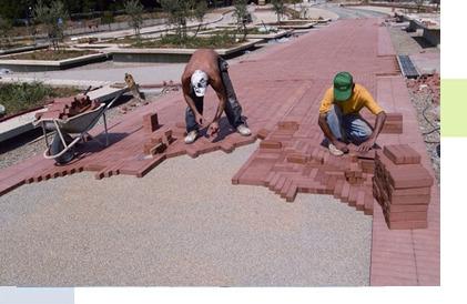 Укладка тротуарной плитки цена в Рязани