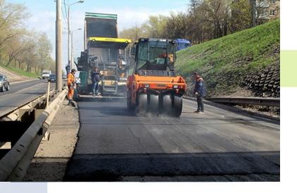 Реконструкция автомобильных дорог в Рязани