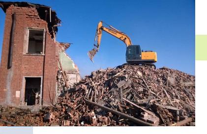 Демонтаж зданий в Рязани