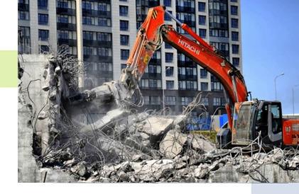 Демонтаж домов в Рязани