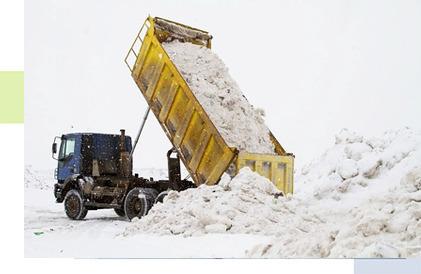 Вывоз снега в Рязани